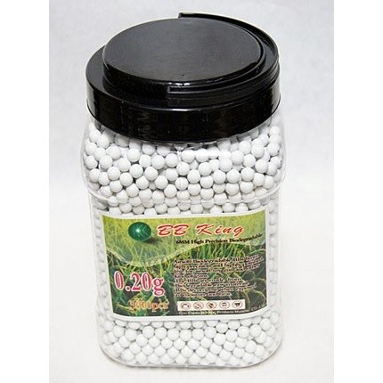 5000 pcs 0,20g Bio bbs bottle